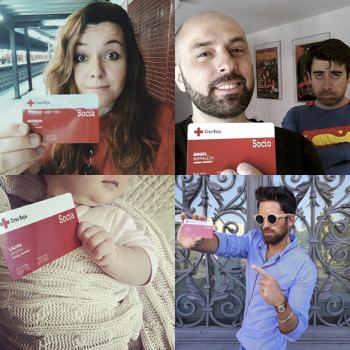 Youtubers, bloggers e instagramers se vuelcan con Cruz Roja