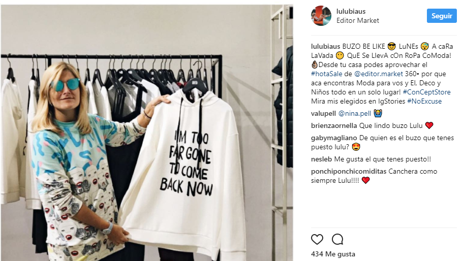 influencers argentina marcas