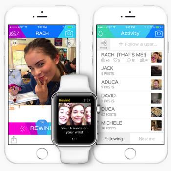 Tras Snapchat llega Rewind: tu vida social desaparece a las 24 horas